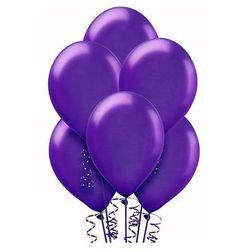 Balony lateksowe duże - 12 cali - fioletowe - 25 szt.