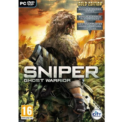 Gry na PC, City Interactive Sniper Ghost Warrior Gold
