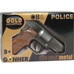 Metalowy pistolet policyjny