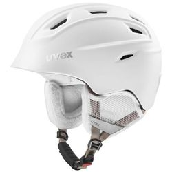 UVEX kask narciarski Fierce - white mat (59-61 cm)