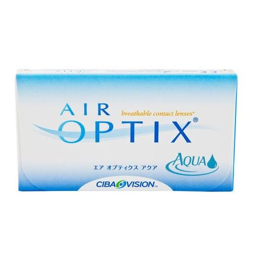 Soczewki kontaktowe, Air Optix Aqua 6 szt