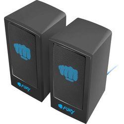 Głośniki 2.0 Fury Skyray czarno-niebieskie