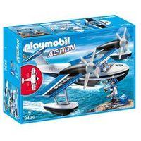 Figurki i postacie, Playmobil Zestaw figurek Policyjny samolot wodny