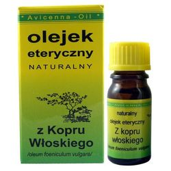 Olejek eteryczny z Kopru Włoskiego - 7ml - Avicenna Oil
