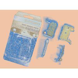 Y8E598010 Klocki hamulcowe Shimano M06Ti metaliczne tytanowa płytka