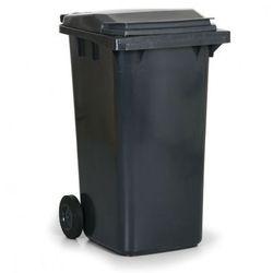 Plastikowy pojemnik na odpady CLD 240 litrów, ciemno-srazy