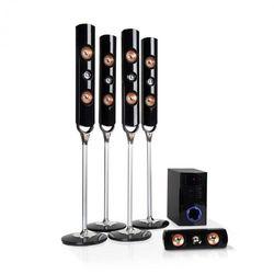 Auna Areal Nobility 5.1-kanałowy system audio surround 120 W RMS Bluetooth 3.0 USB SD AUX