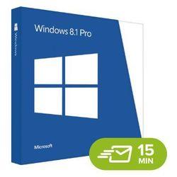Windows 8.1 Professional, licencja elektroniczna 32/64 bit