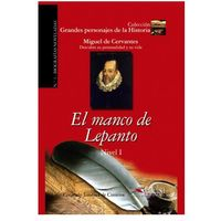Książki do nauki języka, El manco de Lepanto Nivel 1 - Jimenez de Cisneros Consuelo (opr. miękka)
