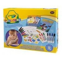 Mazaki i flamastry, Zestaw Crayola kredki flamastry dla malucha +1