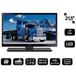 """Mistral MI-TV2155 Telewizor 21,5"""" LED HD z tunerem DVB-T/T2/S2/C i analogowym oraz USB HDMI VGA 12V 24V"""
