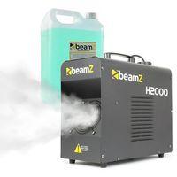 Wytwornice dymu, Beamz H2000 Fazer, wytwornica mgły, z fluidem do wytwarzania mgły, 1700 W, DMX, wyświetlacz LED