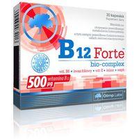 Witaminy i minerały, OLIMP B12 Forte bio-complex 30 kaps.