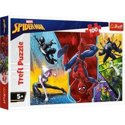 Puzzle 100 Do góry nogami Marvel Spiderman TREFL