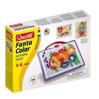 Kreatywne dla dzieci, Quercetti, Fanta Color Portable Small, zabawka kreatywna Mozaika