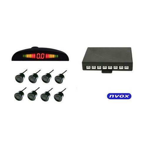 Czujniki parkowania, Czujniki parkowania tył przód 8 sensorów LED
