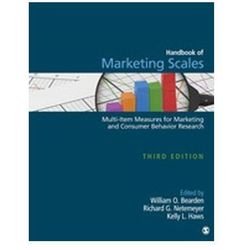 Handbook of Marketing Scales Bearden, William O.