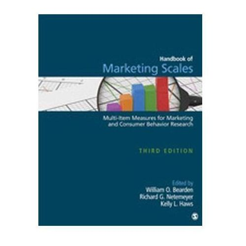 Biblioteka biznesu, Handbook of Marketing Scales Bearden, William O.