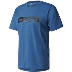Koszulka adidas Terrex Logo Bar Tee BS3754