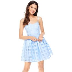 Sukienka Iris w kolorze błękitnym