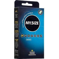 """MY.SIZE """"47"""" - dobrane do obwodu 9,5 - 10,0 cm (10 szt.) - NATYCHMIASTOWA WYSYŁKA ZA 7,99zł + 100% DYSKRECJI"""