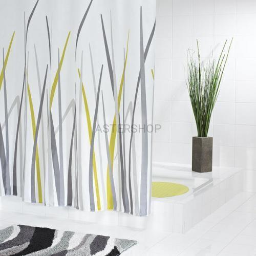 Gras poliestrowa zasłona prysznicowa 180x200cm 42385 marki Ridder