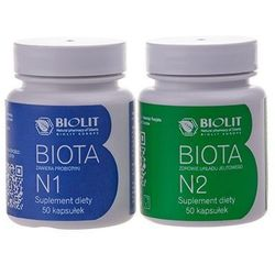 Biota Complex Biota N1 50 kapsułek Biota N2 50 kapsułk Biolit