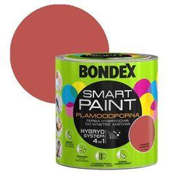 Farba hybrydowa Bondex Smart Paint czerwony w sam raz 2,5 l