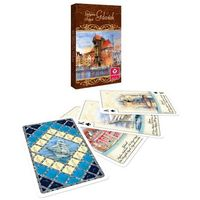 Gry dla dzieci, Karty do gry CARTAMUNDI Akwarele Trójmiasto 55 listków