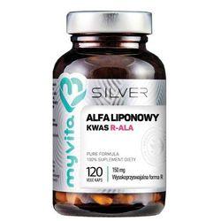 Myvita Silver 100% Kwas Alfaliponowy R-Ala 120 K