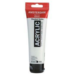 Farba akryl AMSTERDAM 120ml. - titanium white 105