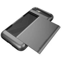 Etui VRS DESIGN Damda Glide do iPhone 7 Srebrno-stalowy