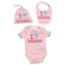 Diesel Zestaw dziecięcy dla niemowląt Różowy 24 miesięcy Przy zakupie powyżej 150 zł darmowa dostawa.