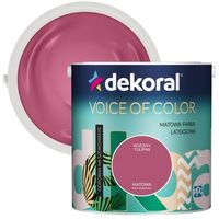 Farby, Farba Dekoral Voice of Color różowy tulipan 2,5 l
