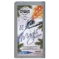 Kredki, Kredki Progresso Magic 12 kolorów w metalowej kasetce