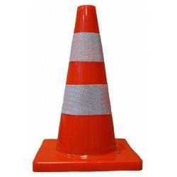ROAD pachołek drogowy ostrzegawczy pcv 45 cm