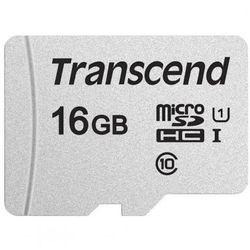 TRANSCEND microSD 16GB 95MB/s TS16GUSD300S-A