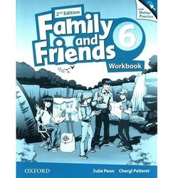Family and friends 6 workbook with online practice - penn julie, pelteret cheryl