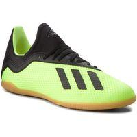 Piłka nożna, Buty adidas - X Tango 18.3 In J DB2426 Syello/Cblack/Syello