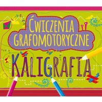 Książki dla dzieci, Ćwiczenia grafomotoryczne Kaligrafia - Dostawa 0 zł (opr. miękka)