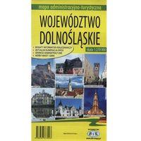 Mapy i atlasy turystyczne, Województwo Dolnośląskie. Mapa administracyjno-turystyczna (opr. broszurowa)