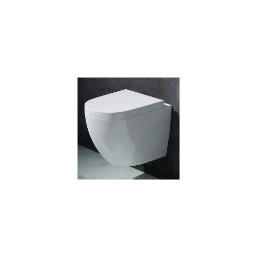 VERA RIMLESS Miska WC wisząca + deska duroplast wolnoopadająca