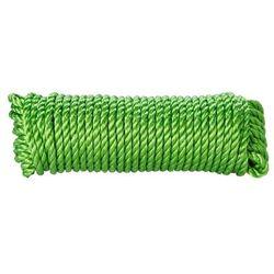 Lina skręcana polipropylenowa Diall 10 mm x 15 m zielona
