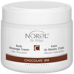 Norel (Dr Wilsz) CHOCOLATE SPA BODY MASSAGE CREAM MILK CHOCOLATE Krem do masażu ciała Mleczna Czekolada (PB187)