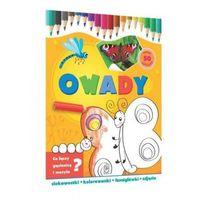 Kolorowanki, Owady-ciekawostki, kolorowanki, łamigłówki...