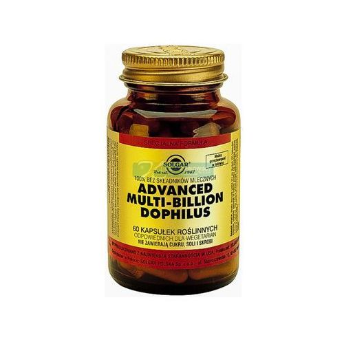 Prebotyki i probiotyki, S.Advanced Multi-Billion *60 kaps.