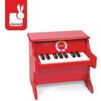 Instrumenty dla dzieci, Czerwone pianino Confetti, Janod
