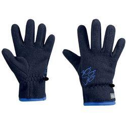 Rękawice dla dzieci BAKSMALLA FLEECE GLOVE KIDS midnight blue