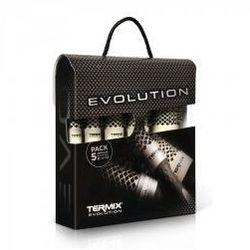Termix Evolution Soft, zestaw 5 szczotek do włosów, różne rozmiary