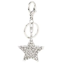 Breloczek-gwiazdka z kryształkami